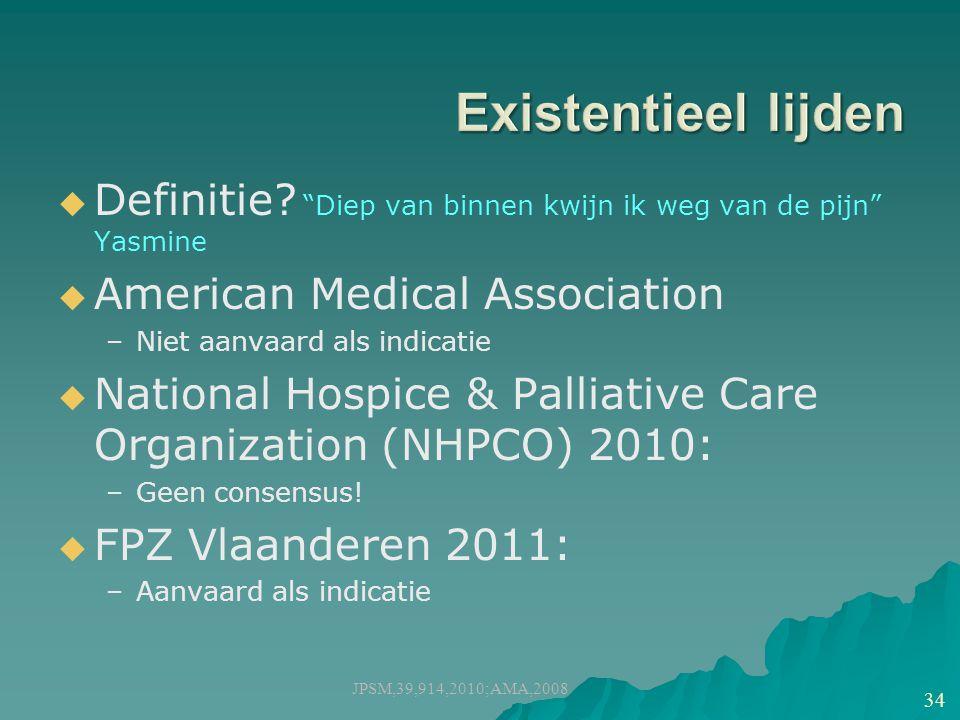 JPSM,39,914,2010;AMA,2008 34   Definitie.