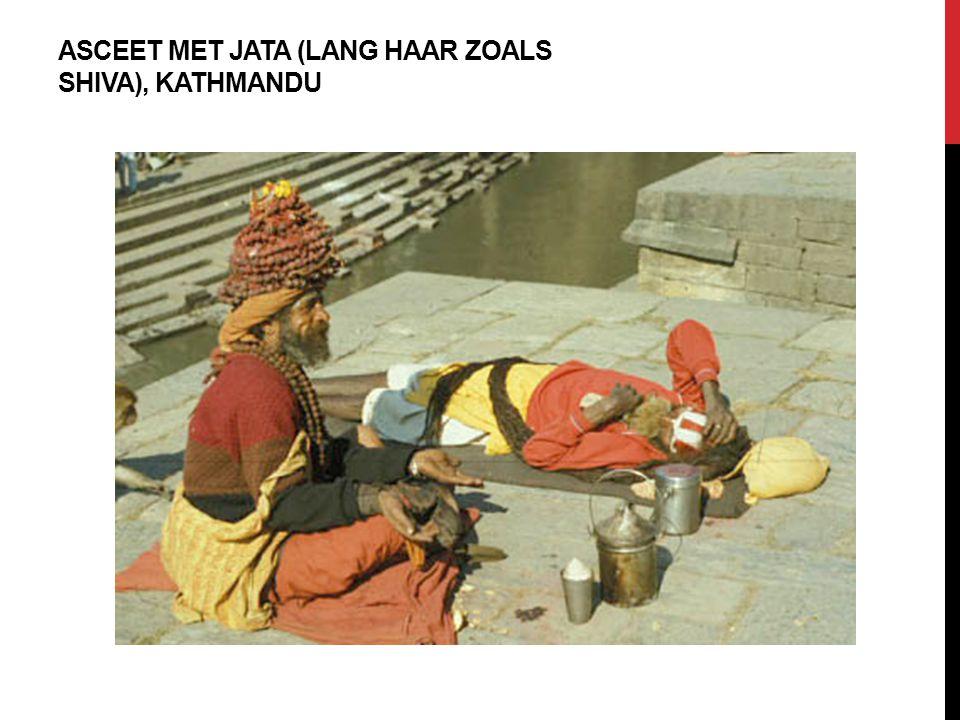 ASCEET MET JATA (LANG HAAR ZOALS SHIVA), KATHMANDU