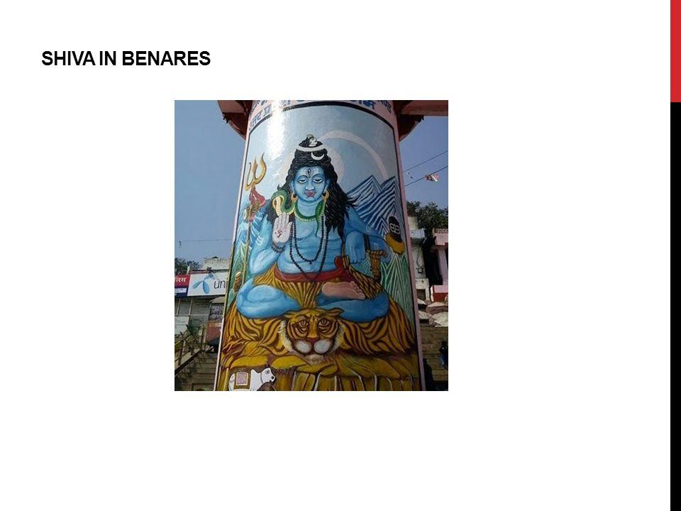 SHIVA IN BENARES
