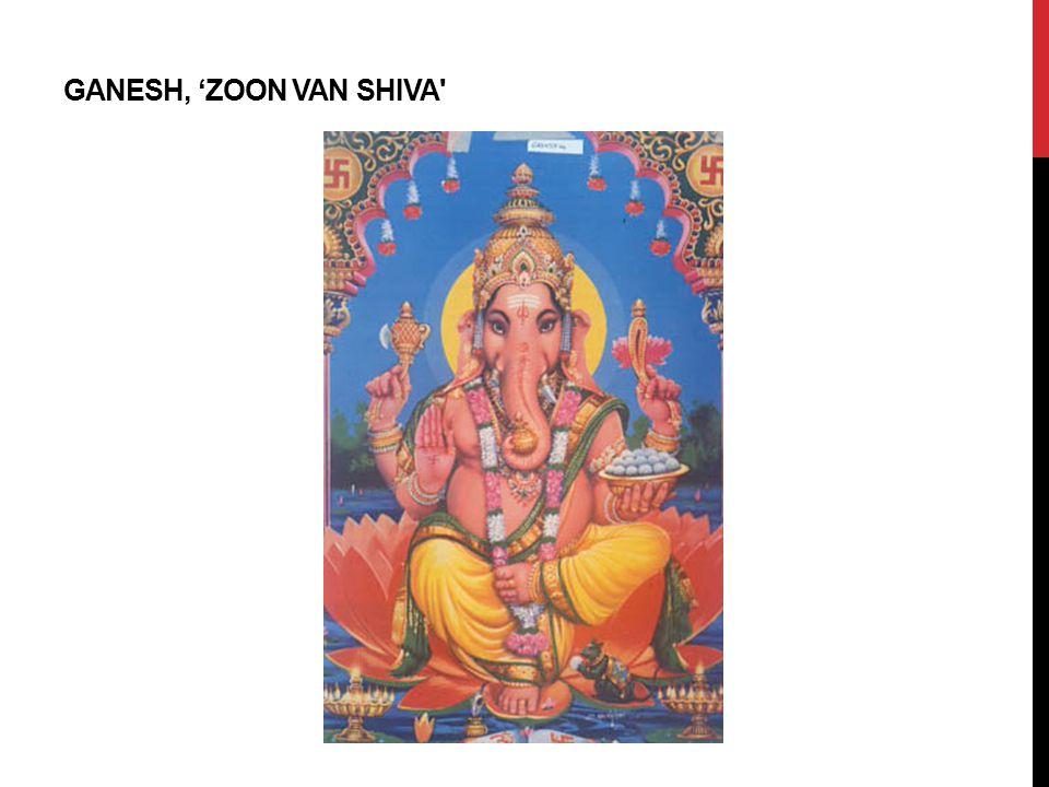 GANESH, 'ZOON VAN SHIVA'