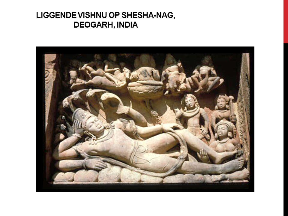 LIGGENDE VISHNU OP SHESHA-NAG, DEOGARH, INDIA