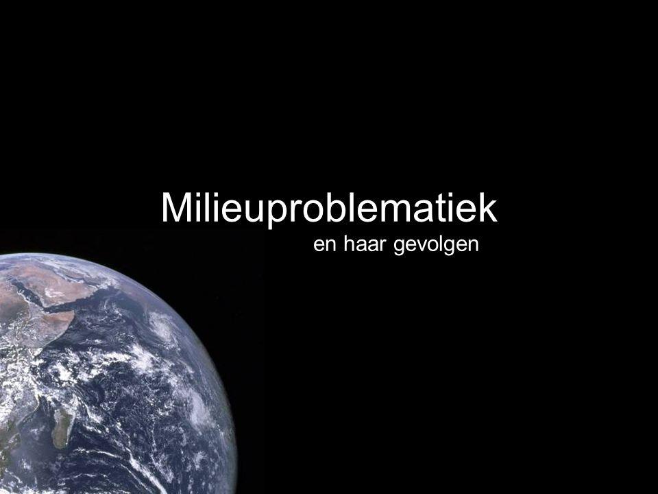 Inleiding Probleem –Uitputting aarde Ecologische voetafdruk –Stijgend verbruik Economische groei Bevolkingsgroei Gevolgen –Tekorten in toekomst –Leefbaarheid aarde in gevaar