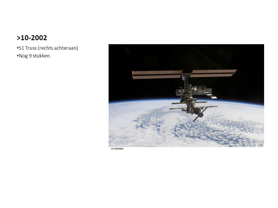 >10-2002 S1 Truss (rechts achteraan) Nog 9 stukken