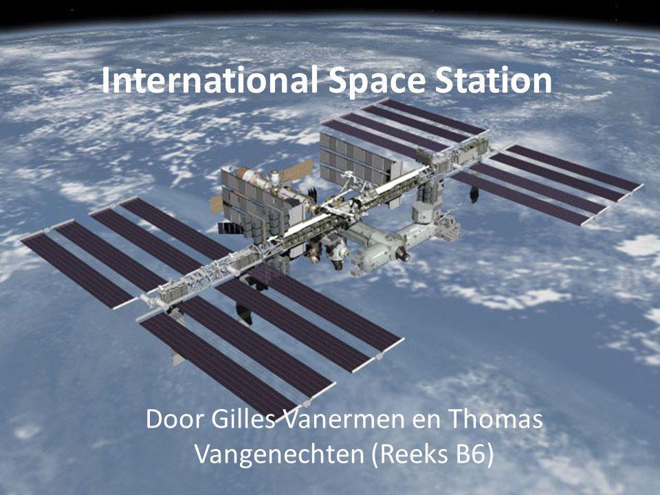 Wat weten jullie al over ISS.Algemeen. Waarom. Toekomst.