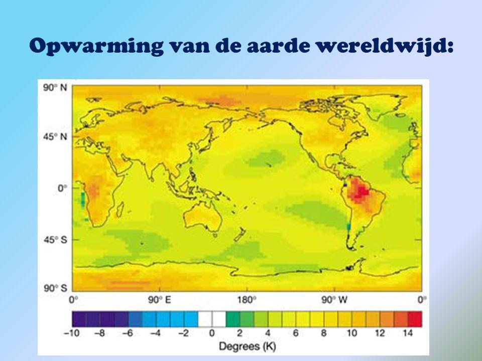Luchtvervuiling Uitlaatgassen van auto's, fabrieken (o.a. CO2) zorgen voor de grootste luchtvervuiling  Opwarming van de aarde  Zure regen  kleine,