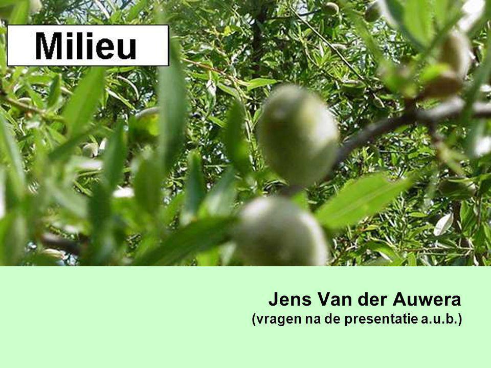 Jens Van der Auwera (vragen na de presentatie a.u.b.)