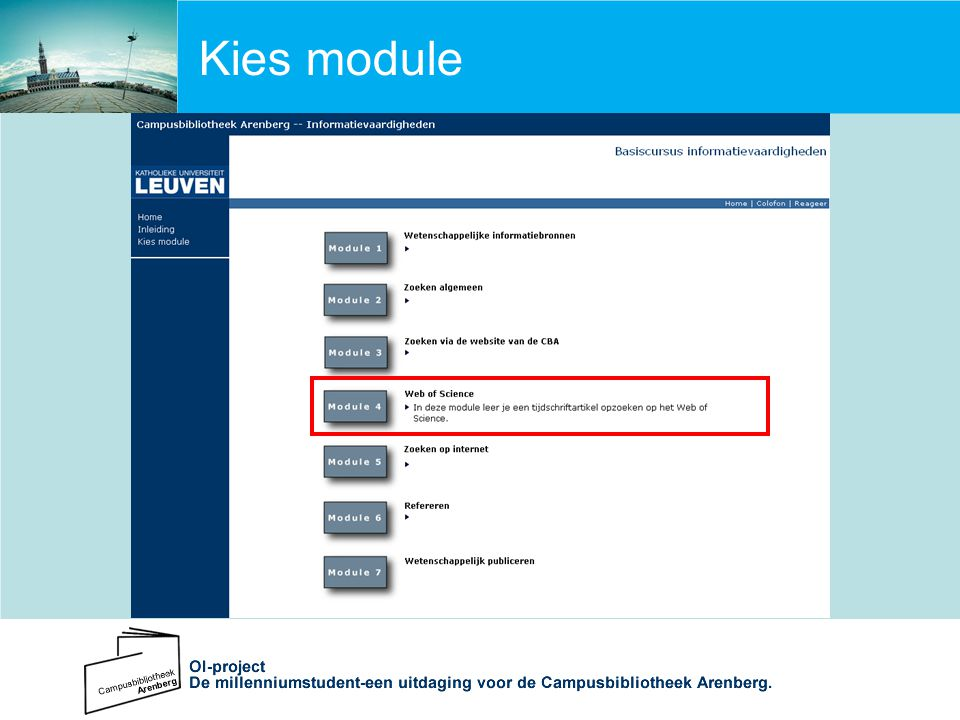 Kies module