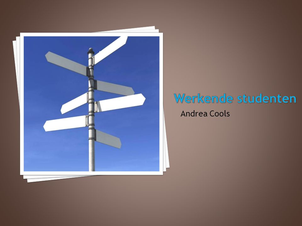 Andrea Cools w o r k s c h o o l h o m e