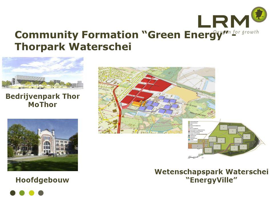 """Wetenschapspark Waterschei """"EnergyVille"""" Hoofdgebouw Bedrijvenpark Thor MoThor Community Formation """"Green Energy"""" - Thorpark Waterschei"""
