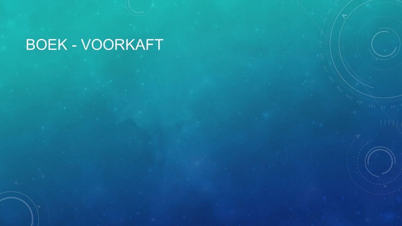 BOEK - VOORKAFT