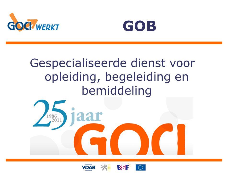 GOB Gespecialiseerde dienst voor opleiding, begeleiding en bemiddeling