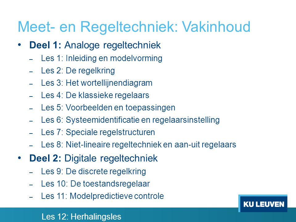 Voorbeelden van regelsystemen (3) Harde schijf met lees-/schrijfkoppen