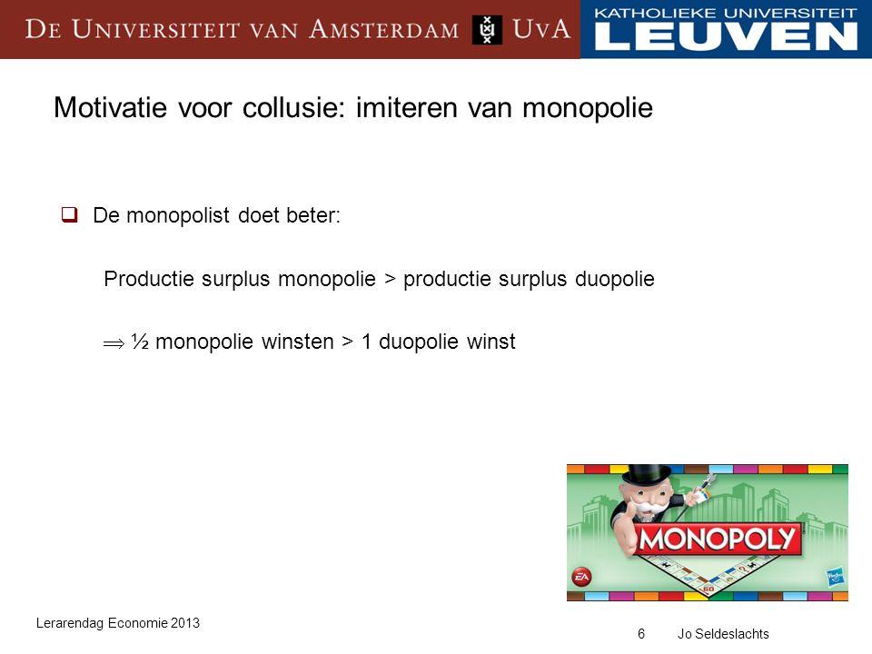27 Jo Seldeslachts Kartel van Belgische supermarkten  Wat te verwachten.