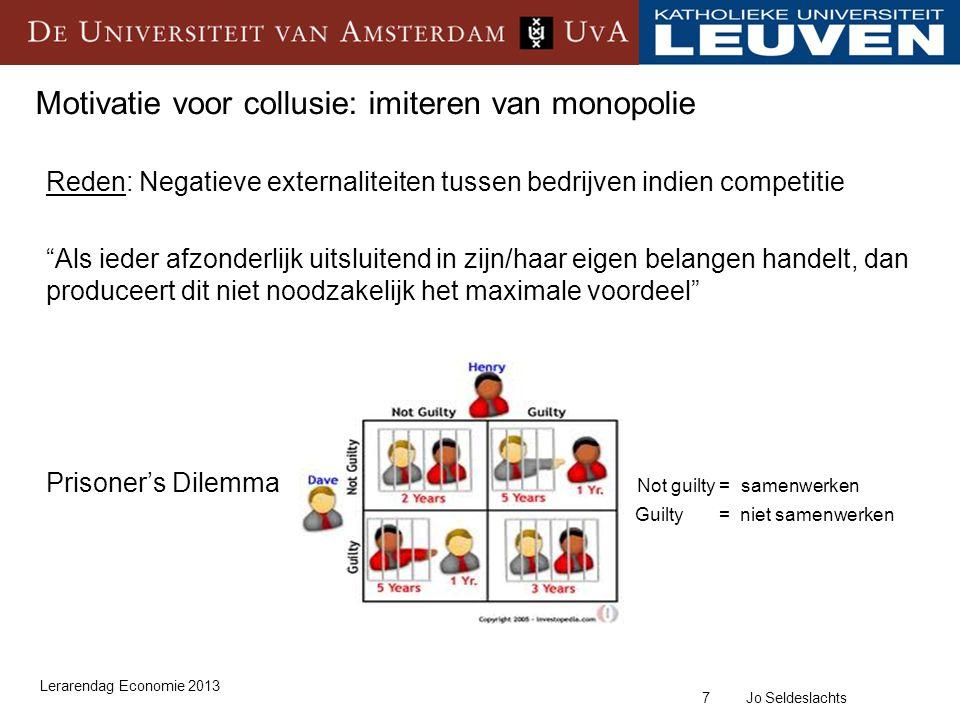 28 Jo Seldeslachts Video: Het bouwkartel in Nederland Lerarendag Economie 2013 https://www.facebook.com/video/video.php?v=178360845084 https://www.facebook.com/video/video.php?v=178524175084 https://www.facebook.com/video/video.php?v=178546025084 https://www.facebook.com/video/video.php?v=178575730084