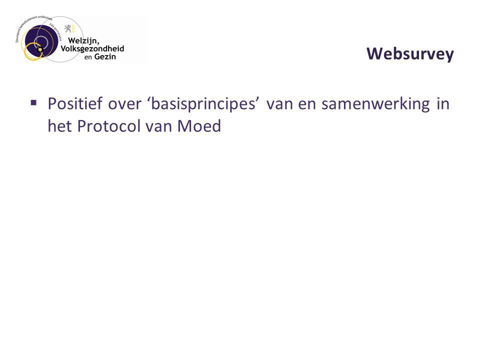  Positief over 'basisprincipes' van en samenwerking in het Protocol van Moed