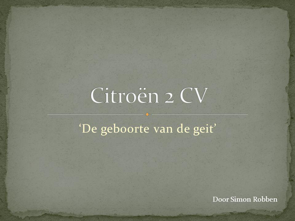 'De geboorte van de geit' Door Simon Robben