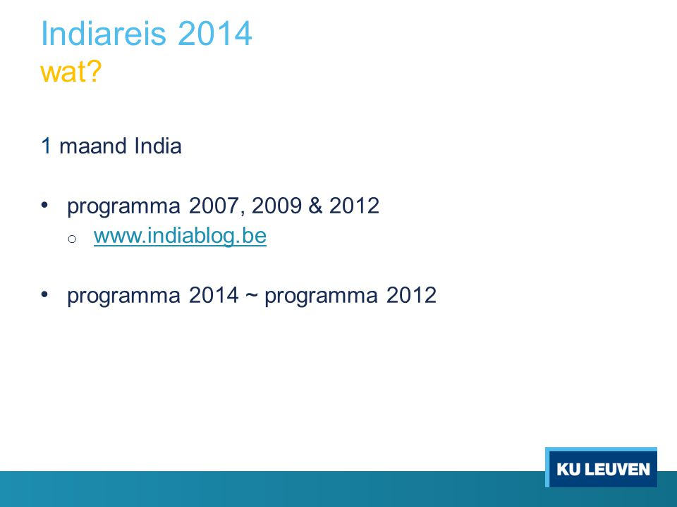 Indiareis 2014 wat.