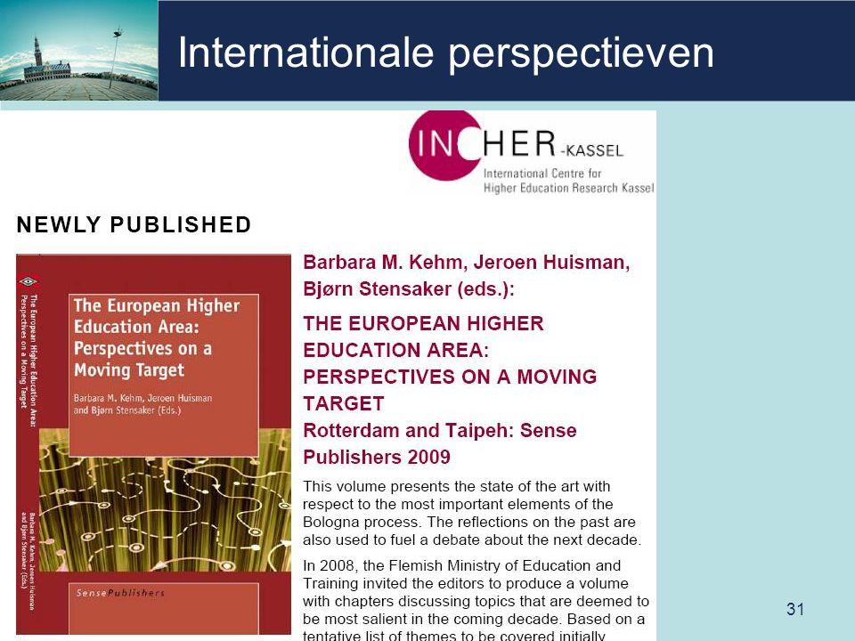 Internationale perspectieven 31