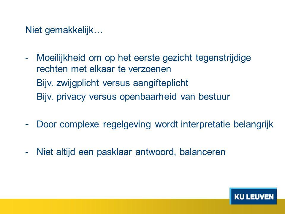 3.Info van personen met discretieplicht naar personen met discretieplicht - Bijv.
