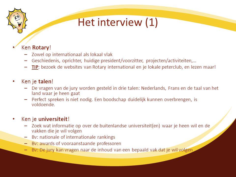 Het interview (1) Ken Rotary.
