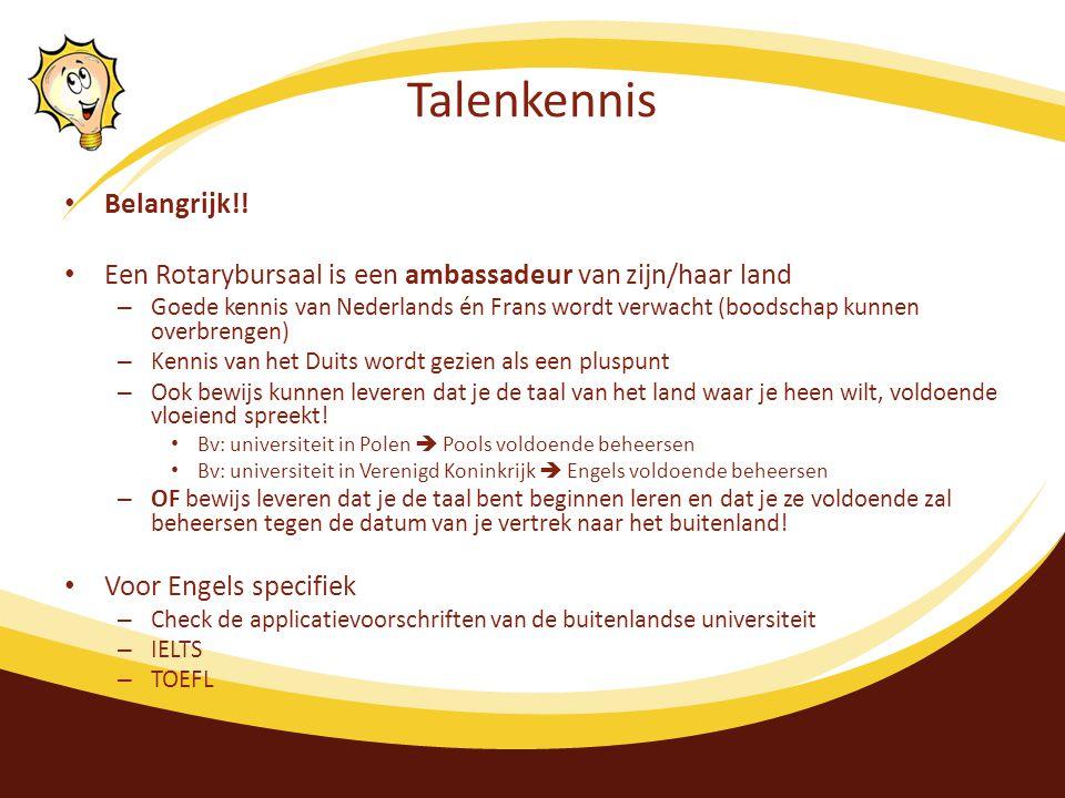 Talenkennis Belangrijk!.