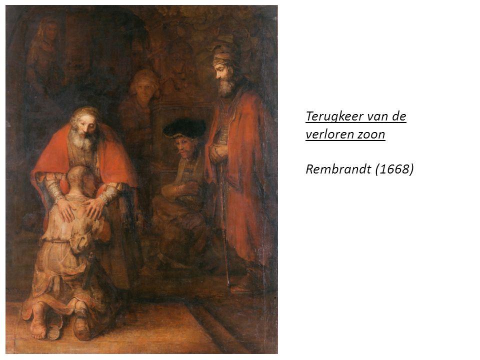 Terugkeer van de verloren zoon Rembrandt (1668)