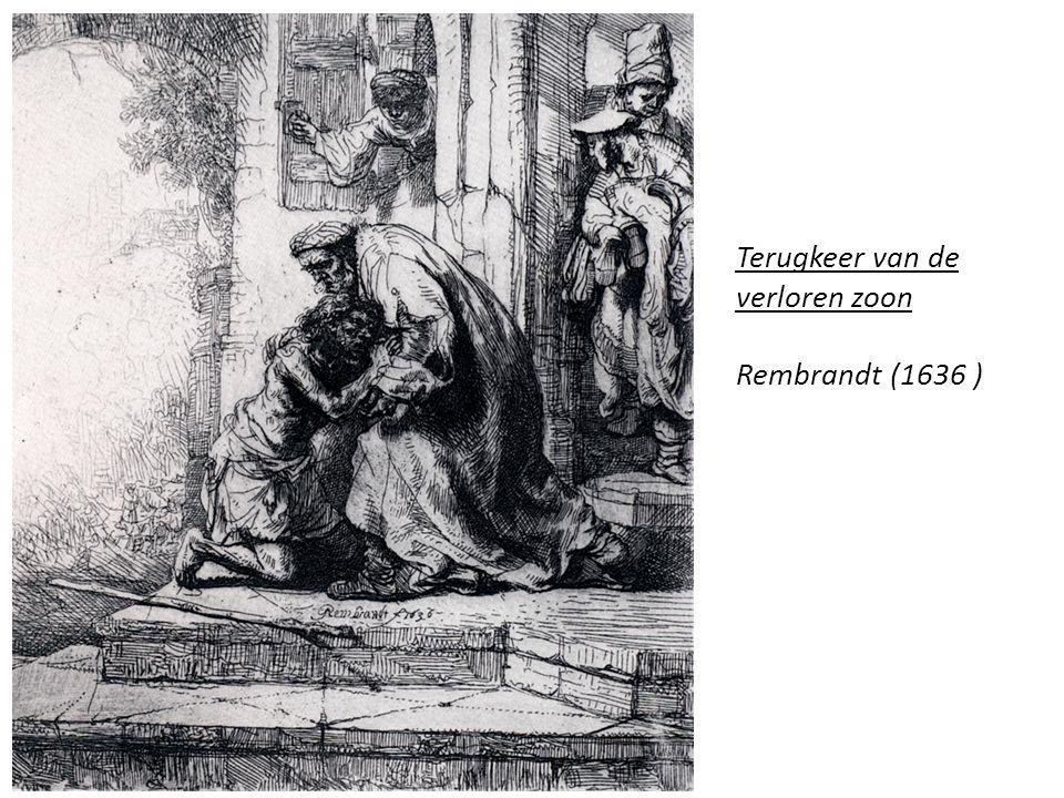 Terugkeer van de verloren zoon Rembrandt (1636 )