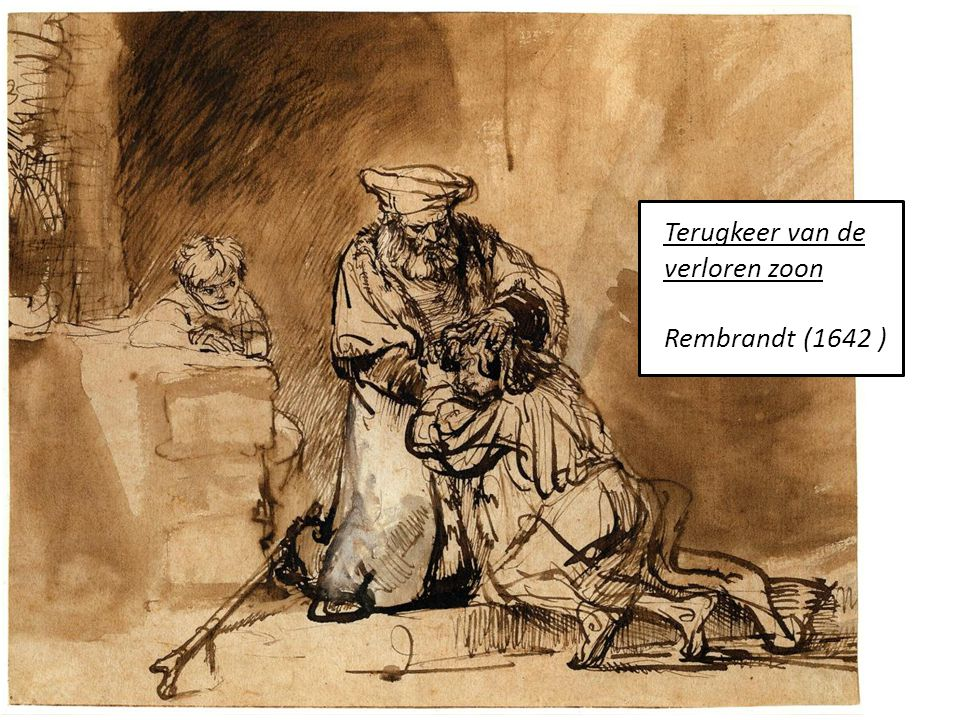 Terugkeer van de verloren zoon Rembrandt (1642 )