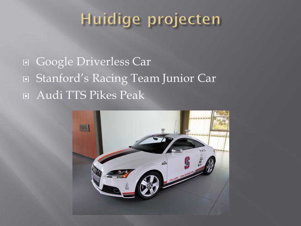  Google Driverless Car  Stanford's Racing Team Junior Car  Audi TTS Pikes Peak
