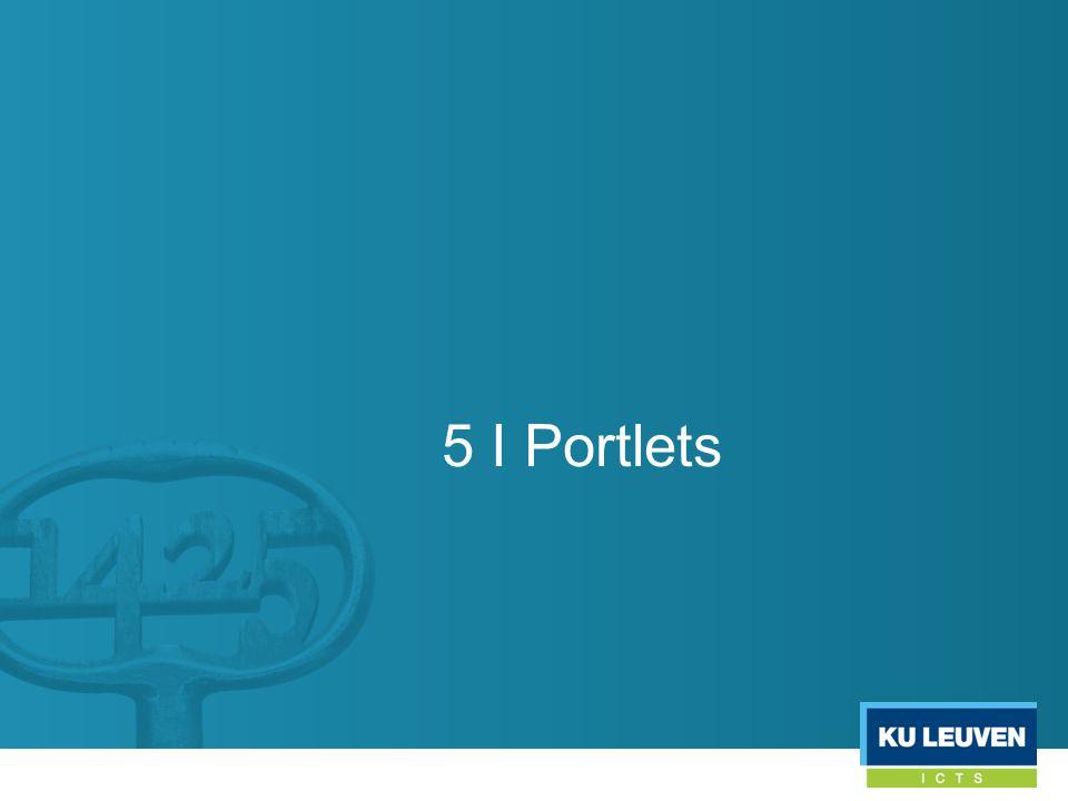 5 I Portlets