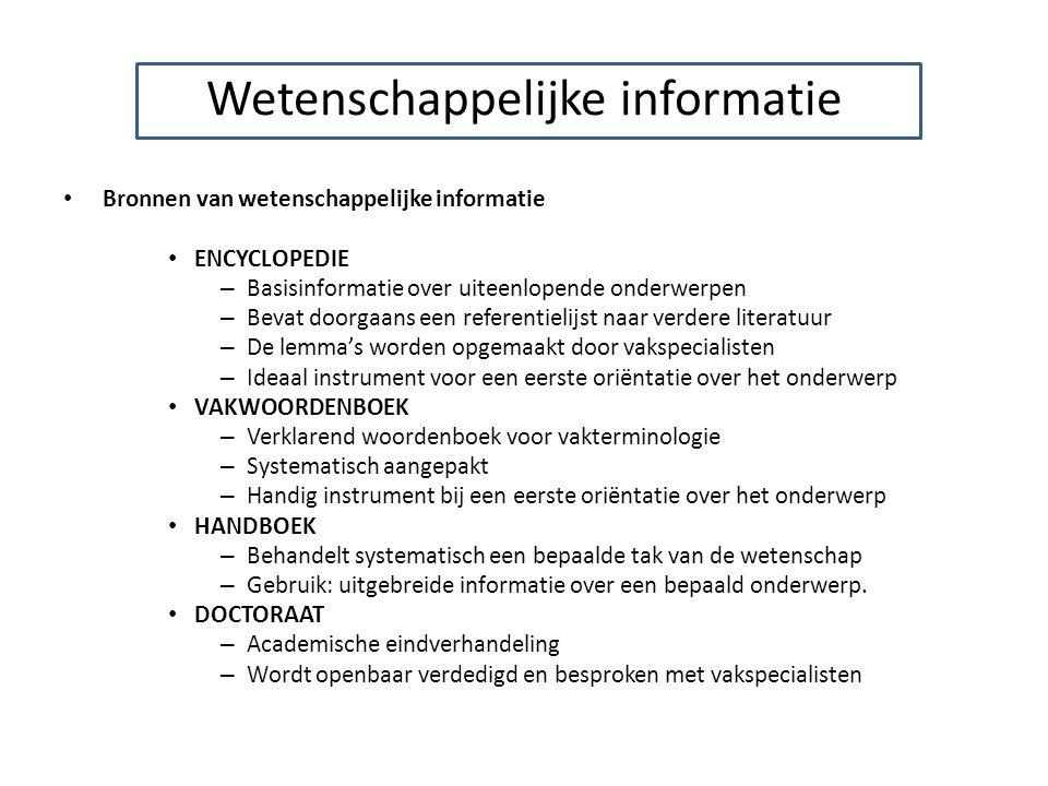 Handig om je kennis te testen van zowel : Catalogus Plagiaat Zoeken op het web Refereren http://wbib.kuleuven.be/tutorial/ http://bib.arts.kuleuven.be/bibliotheek/tutorial/index.cfm http://tilt.ihol.nl