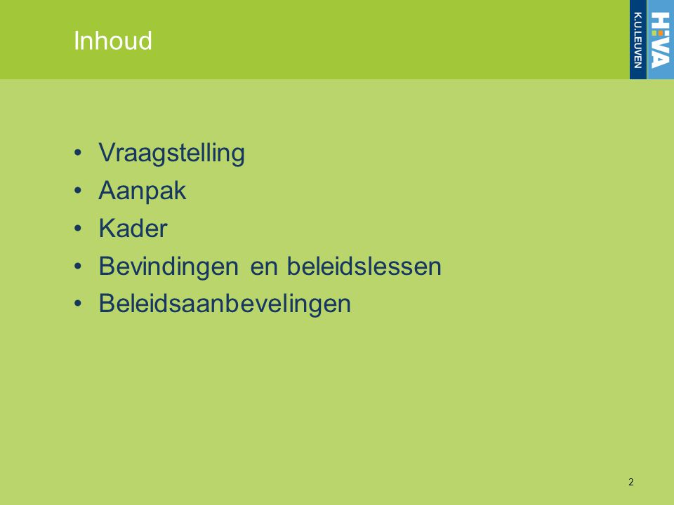 Vraagstelling 3 Bron: European Commission.