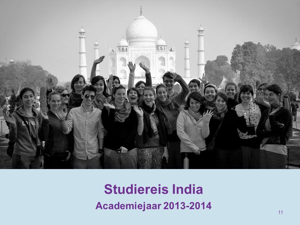 Studiereis India Academiejaar 2013-2014 11
