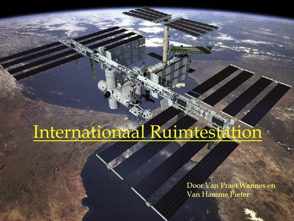 Internationaal Ruimtestation Door Van Praet Wannes en Van Hamme Pieter