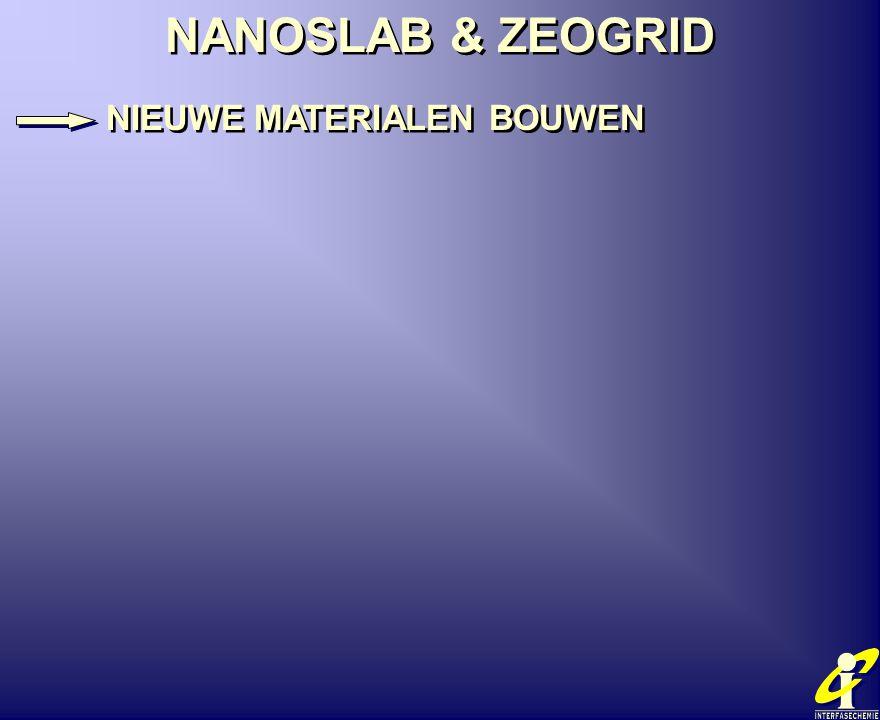 NANOSLAB & ZEOGRID NIEUWE MATERIALEN BOUWEN NANOSLAB & ZEOGRID NIEUWE MATERIALEN BOUWEN