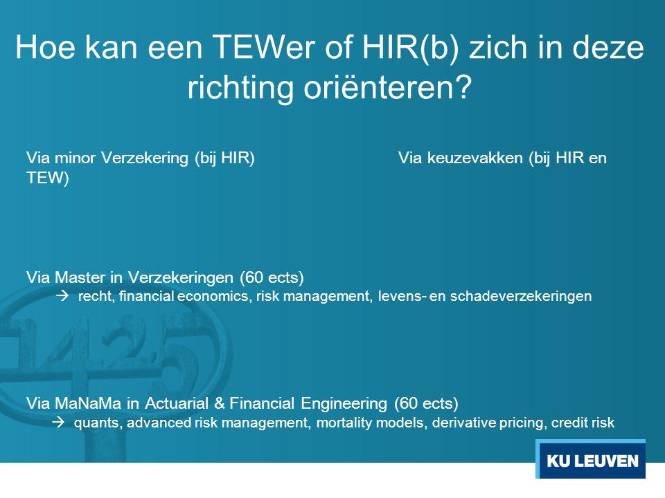 Welke profielen zoeken we? voor Financial & Actuarial Engineering