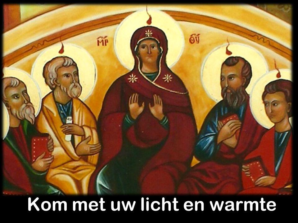 Maak ons ontvankelijk zoals Maria.