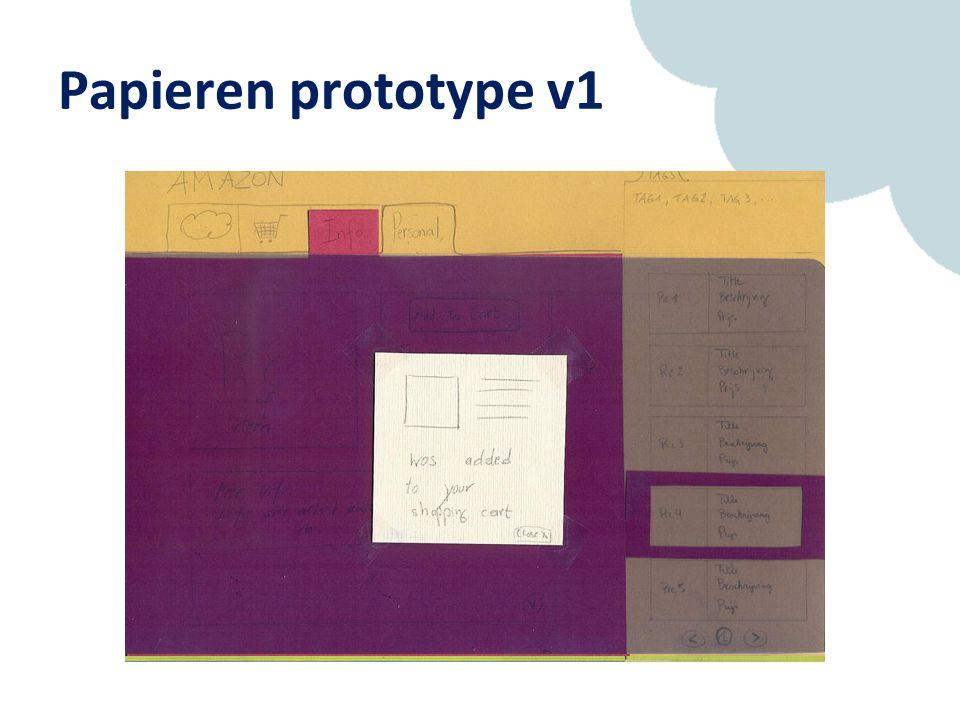 Papieren prototype v1