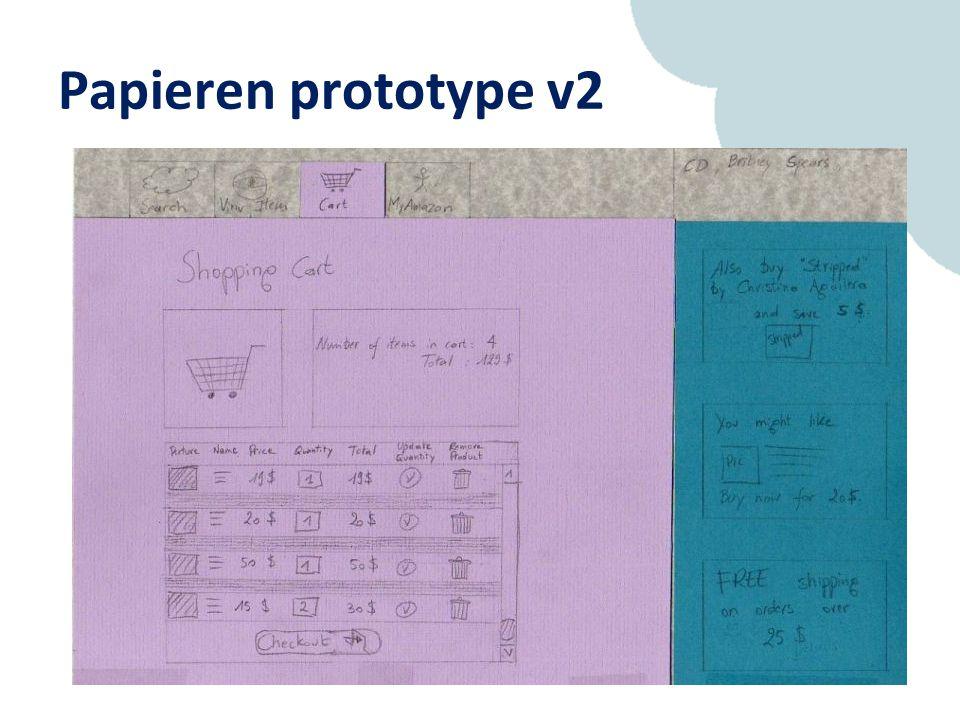 Papieren prototype v2