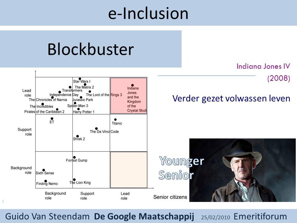 Guido Van Steendam De Google Maatschappij 25/02/2010 Emeritiforum Challenging.