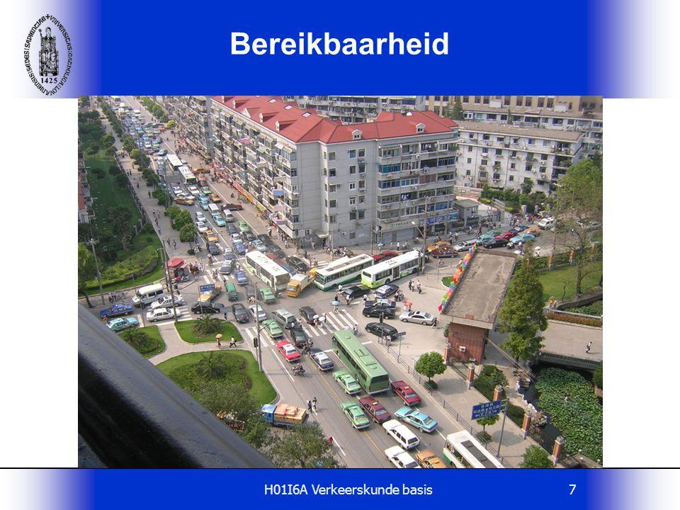 H01I6A Verkeerskunde basis68 Huidig wegennet