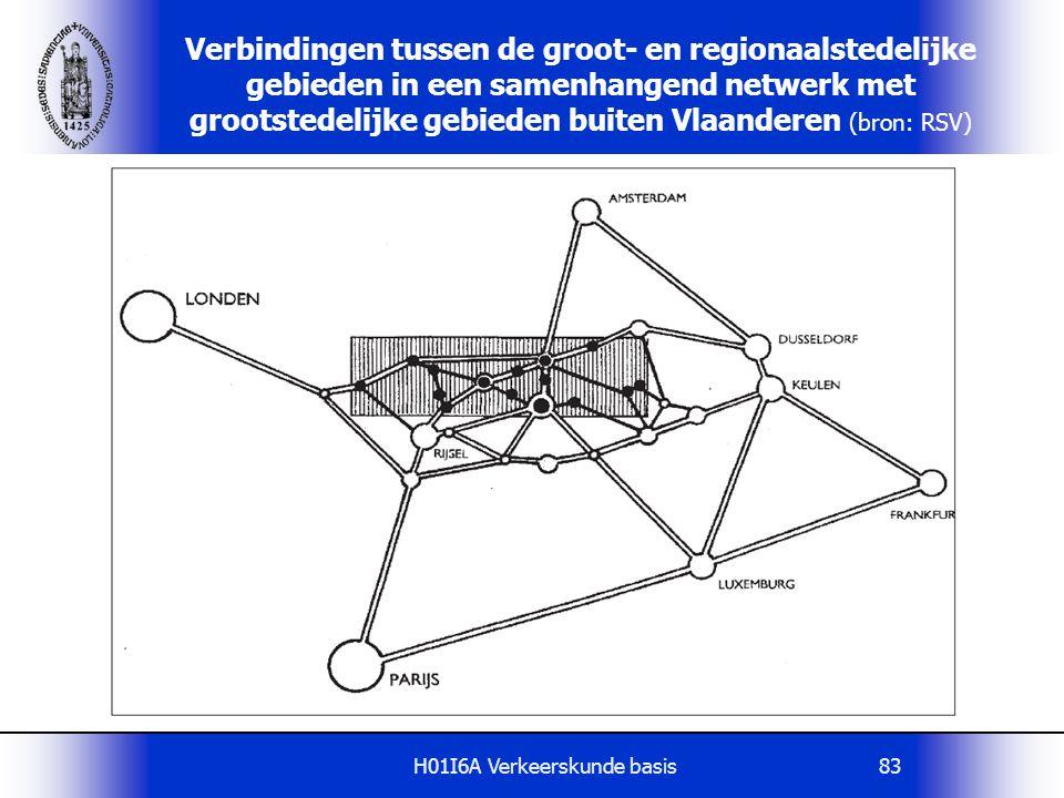 H01I6A Verkeerskunde basis83 Verbindingen tussen de groot- en regionaalstedelijke gebieden in een samenhangend netwerk met grootstedelijke gebieden bu