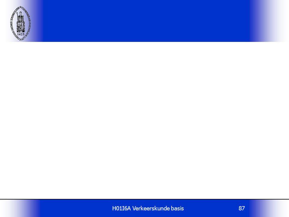 H01I6A Verkeerskunde basis87