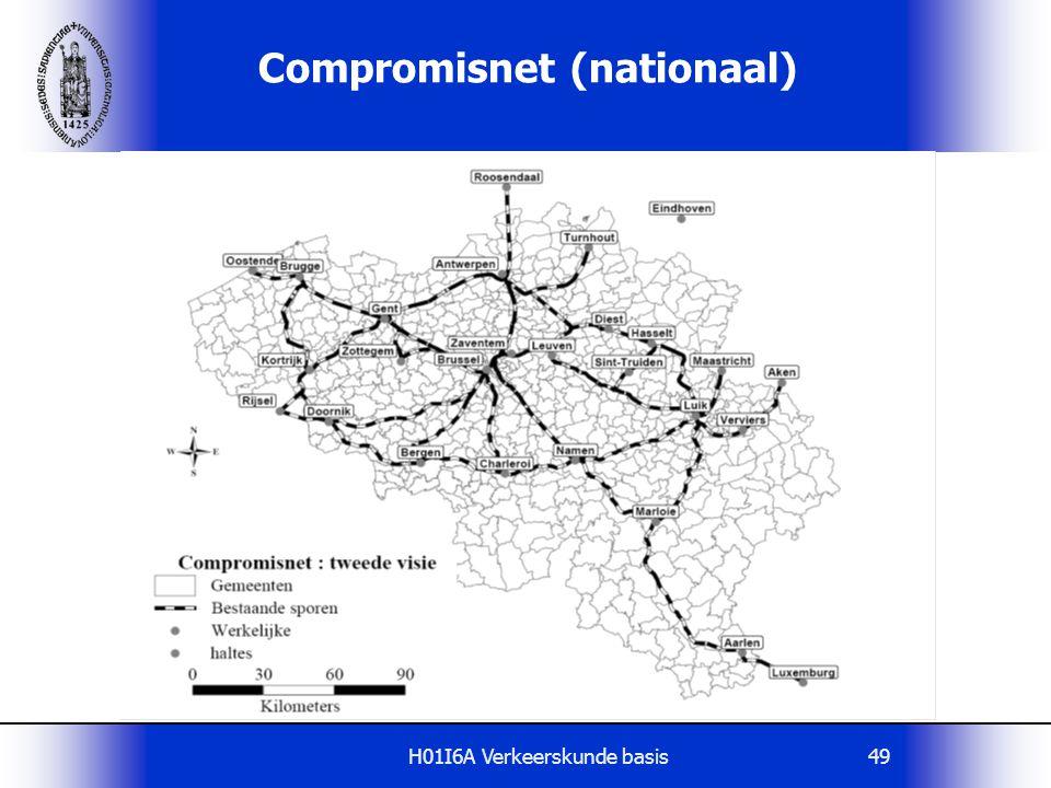 H01I6A Verkeerskunde basis49 Compromisnet (nationaal)