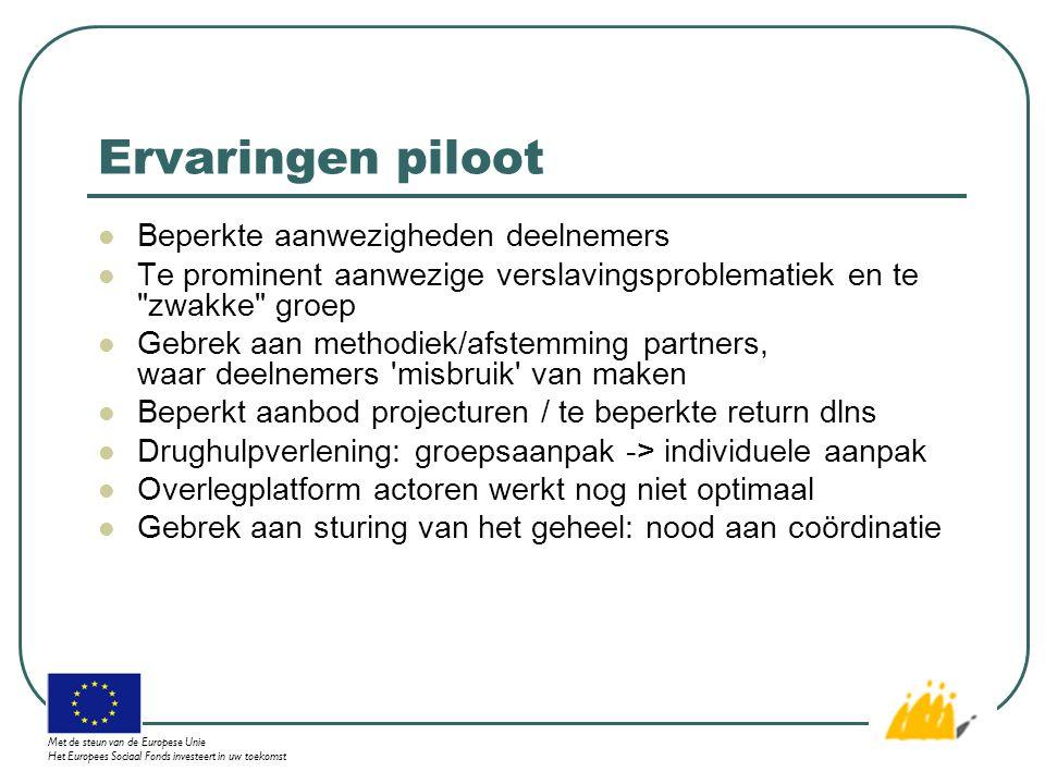Houtbewerking Met de steun van de Europese Unie Het Europees Sociaal Fonds investeert in uw toekomst