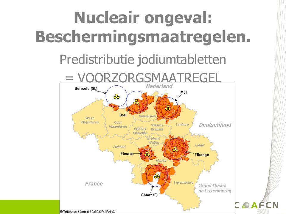 Meer informatie: Raadpleeg de website www.nucleairrisico.be.