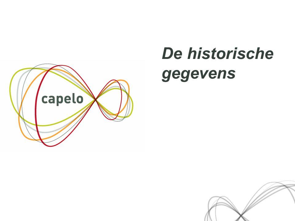 11 De historische gegevens