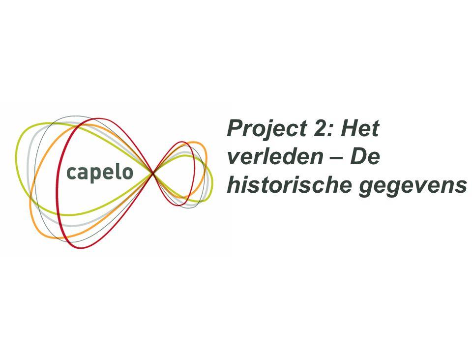 39 Project 2: Het verleden – De historische gegevens