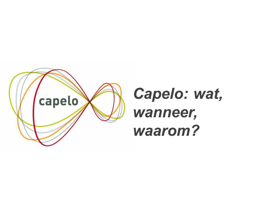4 Capelo: wat, wanneer, waarom?