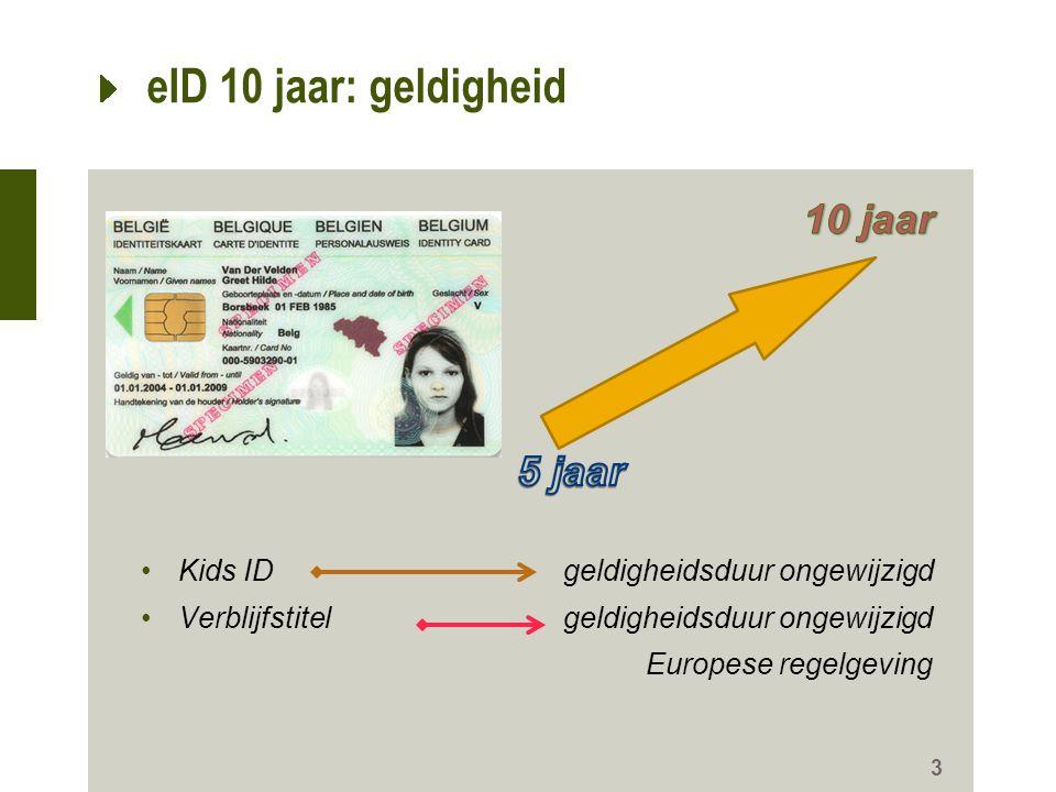 3 eID 10 jaar: geldigheid